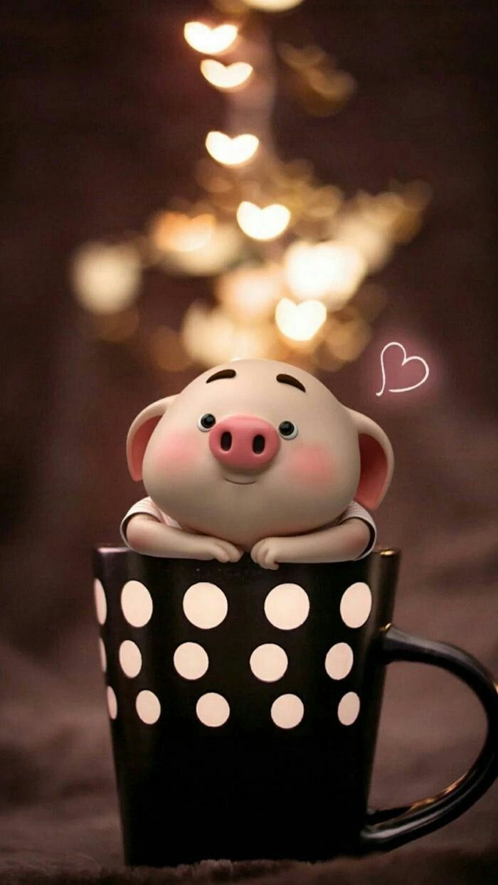 Pin By Alunbe Neume On Cartoons In 2020 Pig Wallpaper Cute Piglets Cute Pigs
