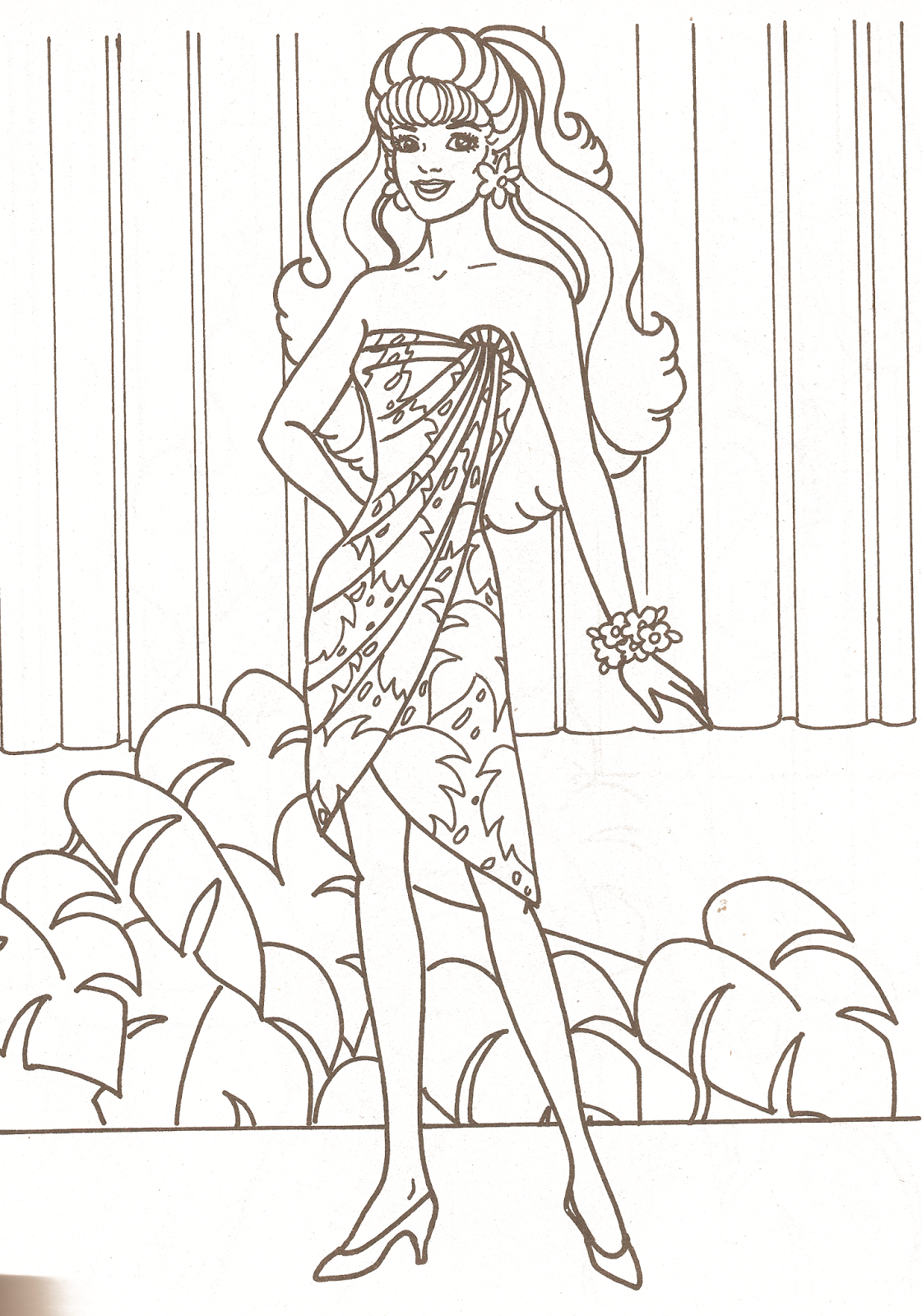 Miss Missy Paper Dolls Barbie Coloring Pages Part 1 In 2021 Barbie Coloring Pages Barbie Coloring Coloring Pages