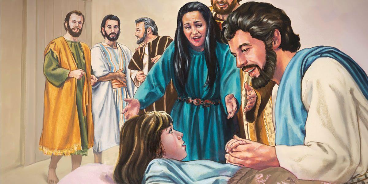 Jesús Resucita A La Hija De Jairo Jairus Daughter Bible People Laughing