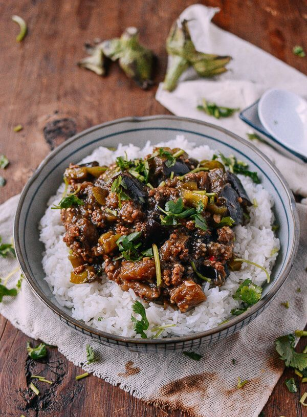 Braised eggplant with minced pork recipe by thewoksoflife braised eggplant with minced pork recipe by thewoksoflife korean food forumfinder Gallery