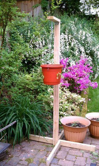 Topsy Turvy Tomato Planter Stand Home Garden Project Ideas