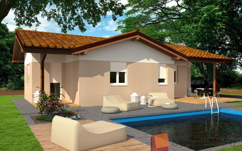 Interni Case Prefabbricate In Legno casa prefabbricata in legno easy 100 | case prefabbricate