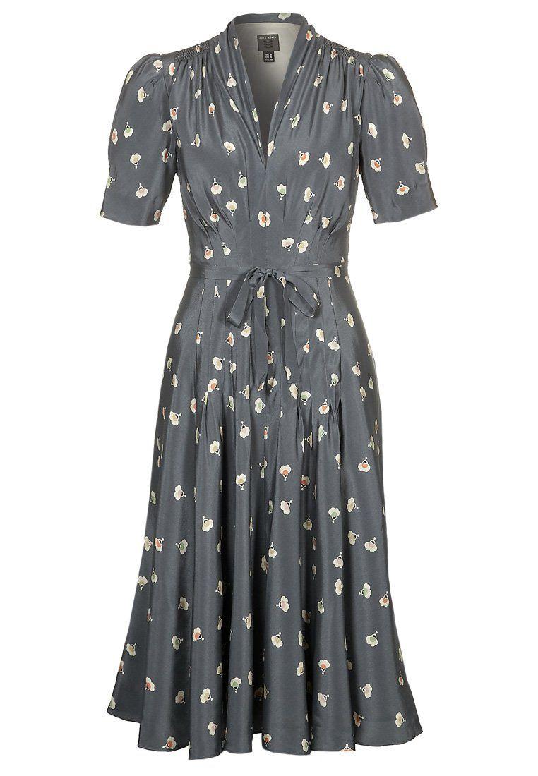Cocktail dress / Party dress - pebble | Vintage kleider, Kleider und ...