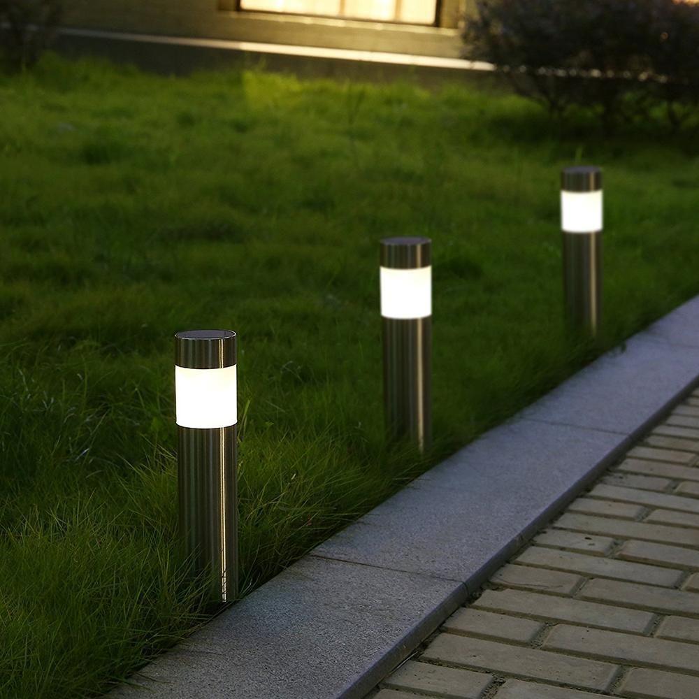 Lampe Energie Solaire Interieur petite borne solaire de balisage pack de 6 | lampes solaires