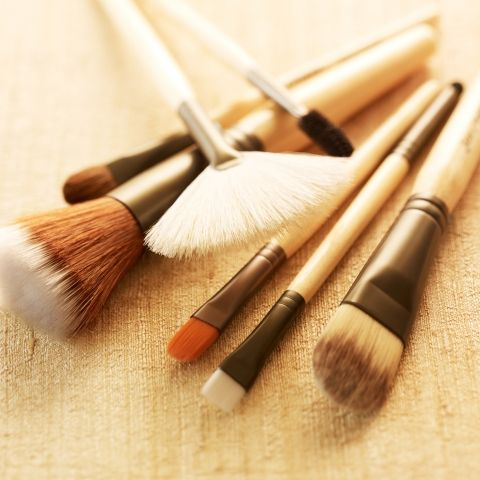 Jane Iredale's beautiful make up brushes are hand tied, so only the kindest part of the hair touches your delicate skin, and they are certified cruelty free by PETA!