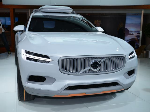 Volvo Concept XC Coupe Revealed in the Metal
