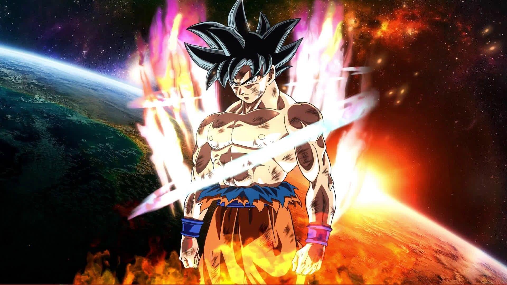 Beautiful Ultra Instinct Goku 3d Wallpaper