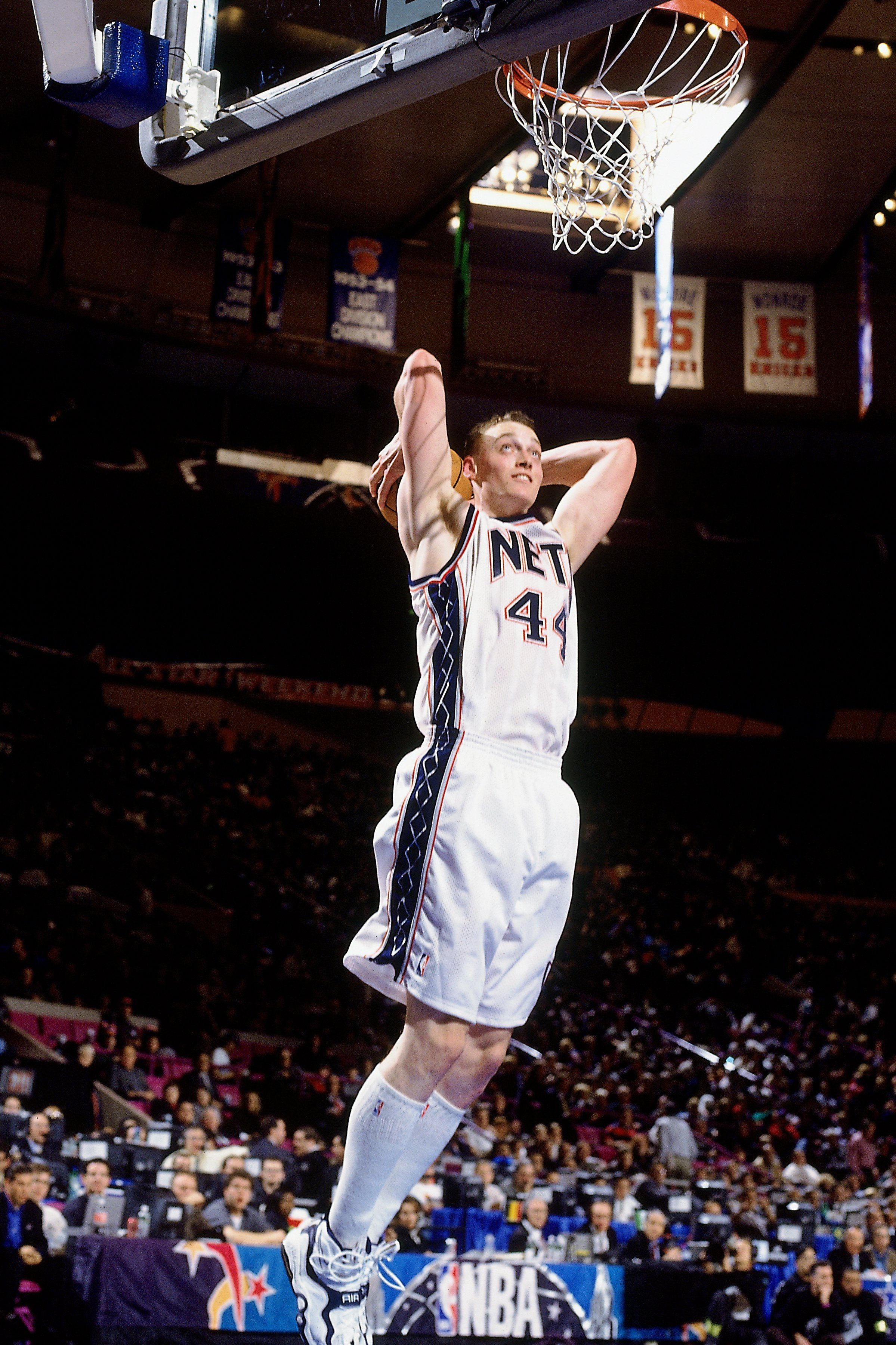 Keith Van Horn New Jersey Nets the man knew how to rock the high
