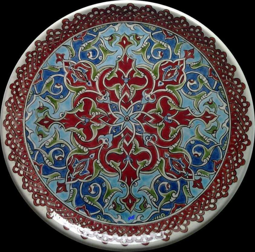Mavicini · Ceramic Tile ArtClay TilesCeramic PaintingCeramic PlatesCeramic ... & Mavicini | a.tezhip | Pinterest | Ceramic plates Pottery and ...