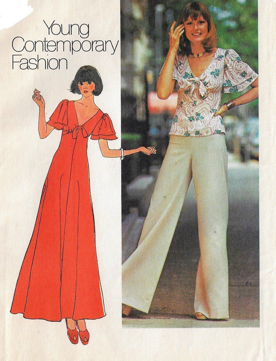 1970s Simplicity Sewing Pattern 7117 Womens Hippie Maxi Dress Etsy Hippie Maxi Dress Young Contemporary Fashion Simplicity Sewing Patterns [ 1370 x 1047 Pixel ]