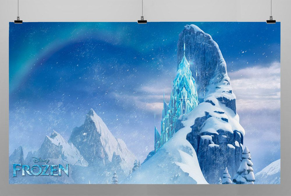 3 Style Frozen Party Decoration Backdrop Photo Booth by iGiftz, $40.00