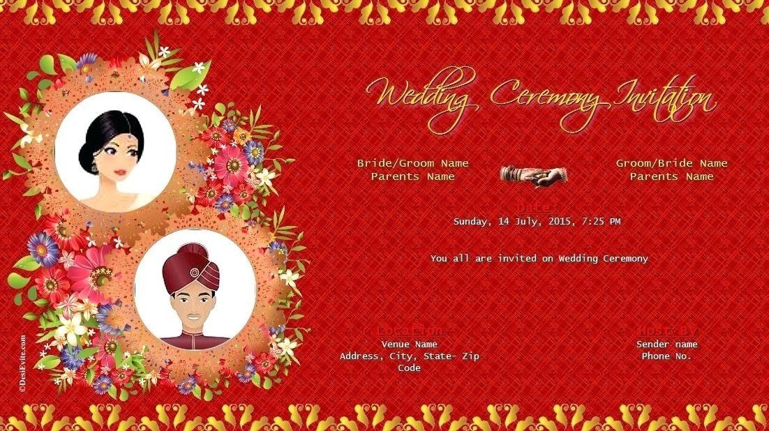 Whatsapp Wedding Invitation Video Template Free Indianwedding Di