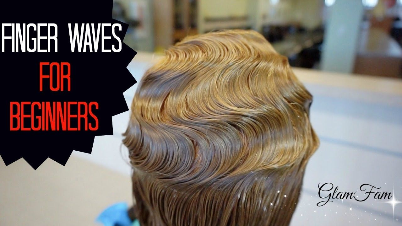 How to do fingerwaves for beginners youtube style pinterest