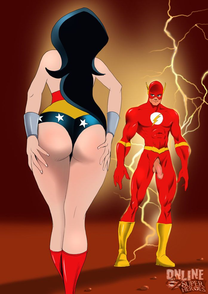 Cartoon wonder woman sex videos