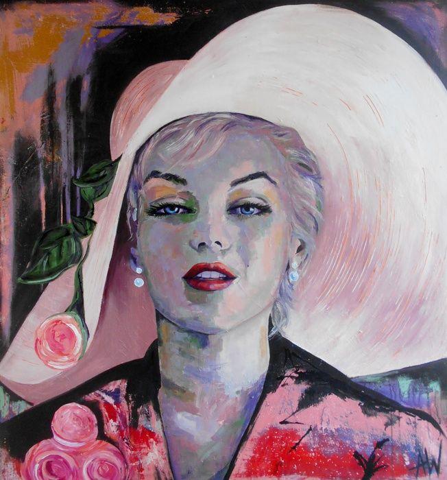 Misunderstood, Acrylic painting by Angie Wright   Artfinder