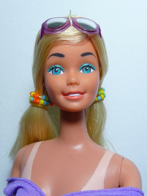 a8940c2f3ac3e Sun Lovin PJ Barbie 1979. Love the tan lines.