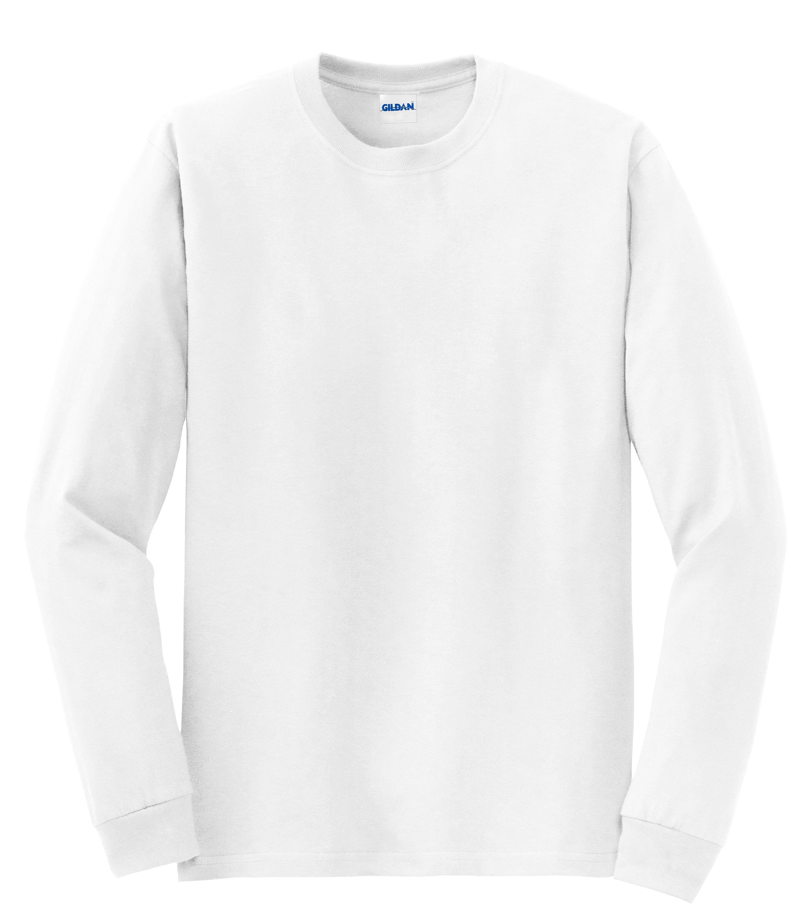 6f05a00c Gildan Mens Ultra Blend Long Sleeve T-Shirt 8400 | Gildan Mens | T ...