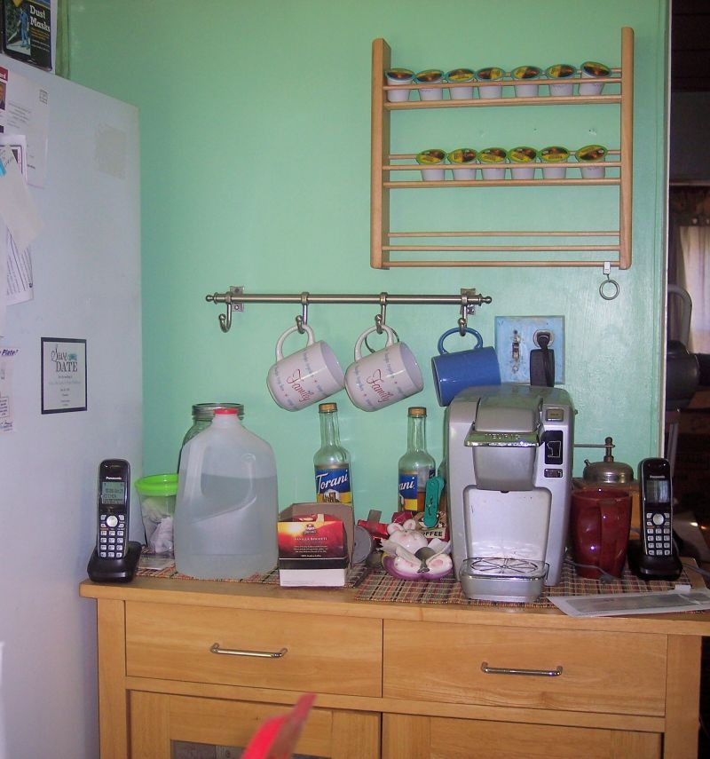 Lowes Spice Rack I Found The Island At A Second Hand Shop An The Towel Rack At Lowes