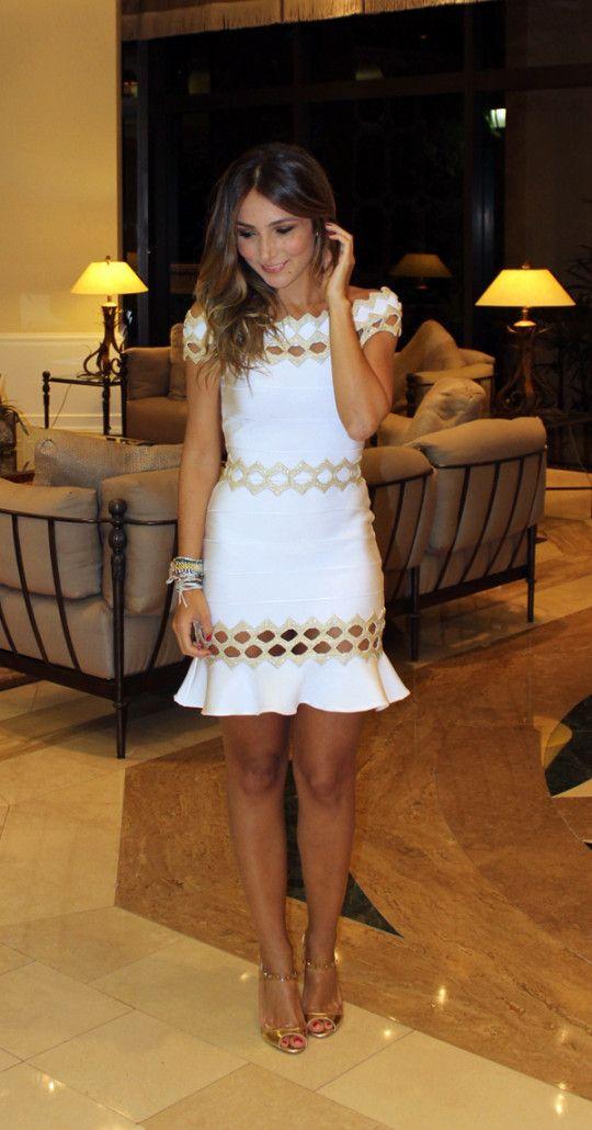 Modatrade - Look de Reveillon – Miami | Vestidos | Pinterest | Beine ...