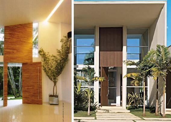 porta pivotante de madeira demolicao arquitetura assim eu gosto