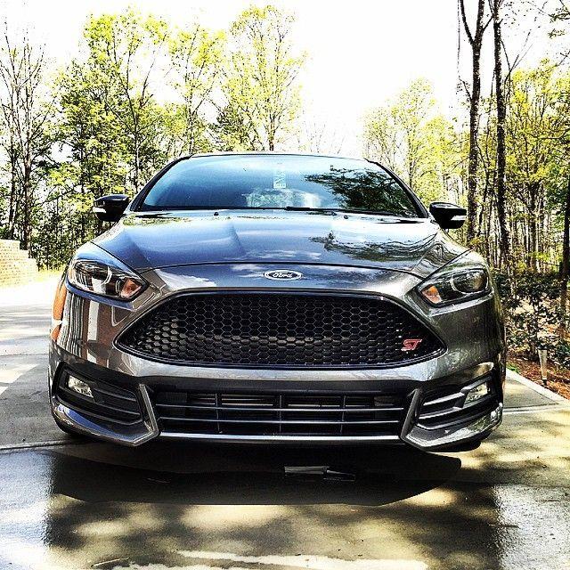 Dark Side Of Ford Focus St Mk3 Facelifting Ford Focus Hatchback