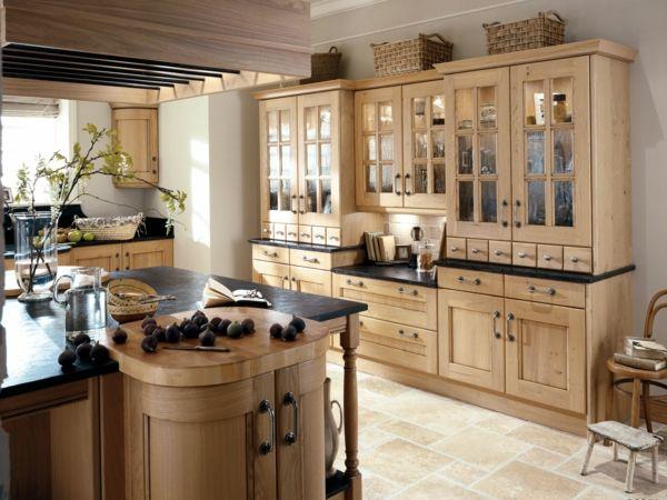 küche ristikal einrichtung schwarze elemente Küche Möbel - küche lackieren vorher nachher