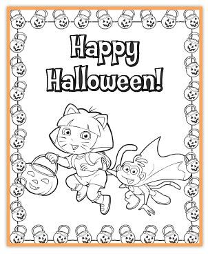 Link to Free Nick Jr Halloween Printables | Halloween | Pinterest ...