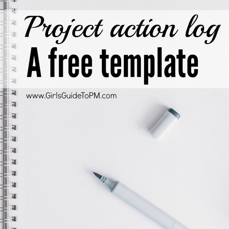 Free Project Action Log Template  Project Management Logs And Action