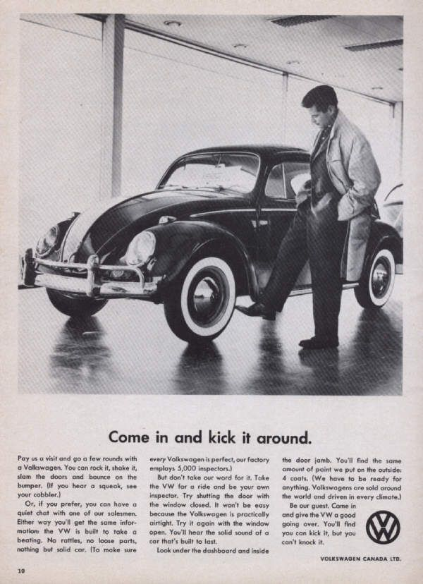 Come In And Kick It Around With Images Volkswagen Beetle