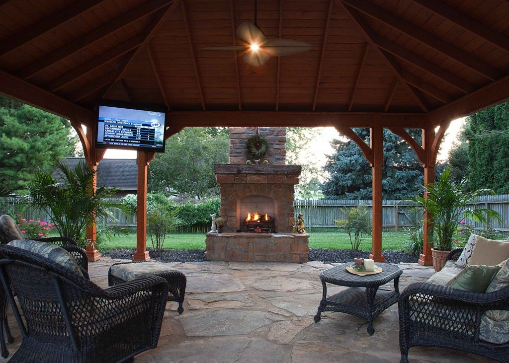 Outdoor Structures Can Completely Transform The Look Of Your Patio And Turn It Into A Stylish Living Room
