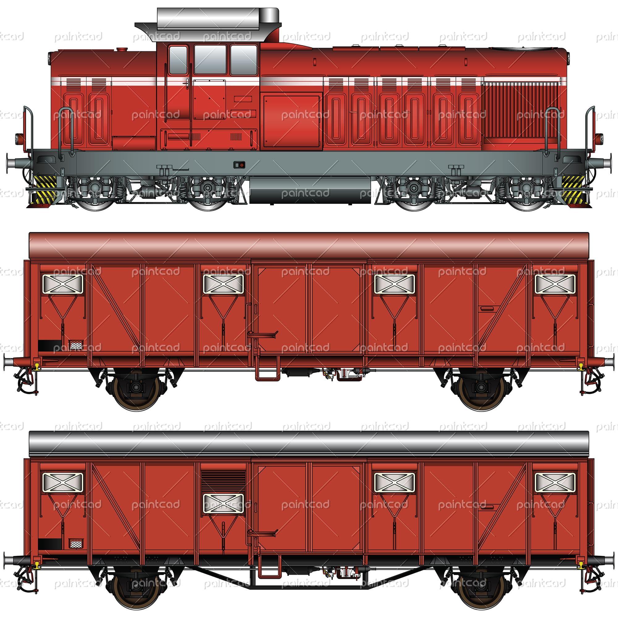 hight resolution of diagram of voroshilovgrad locomotive luhanskteplovoz te 109