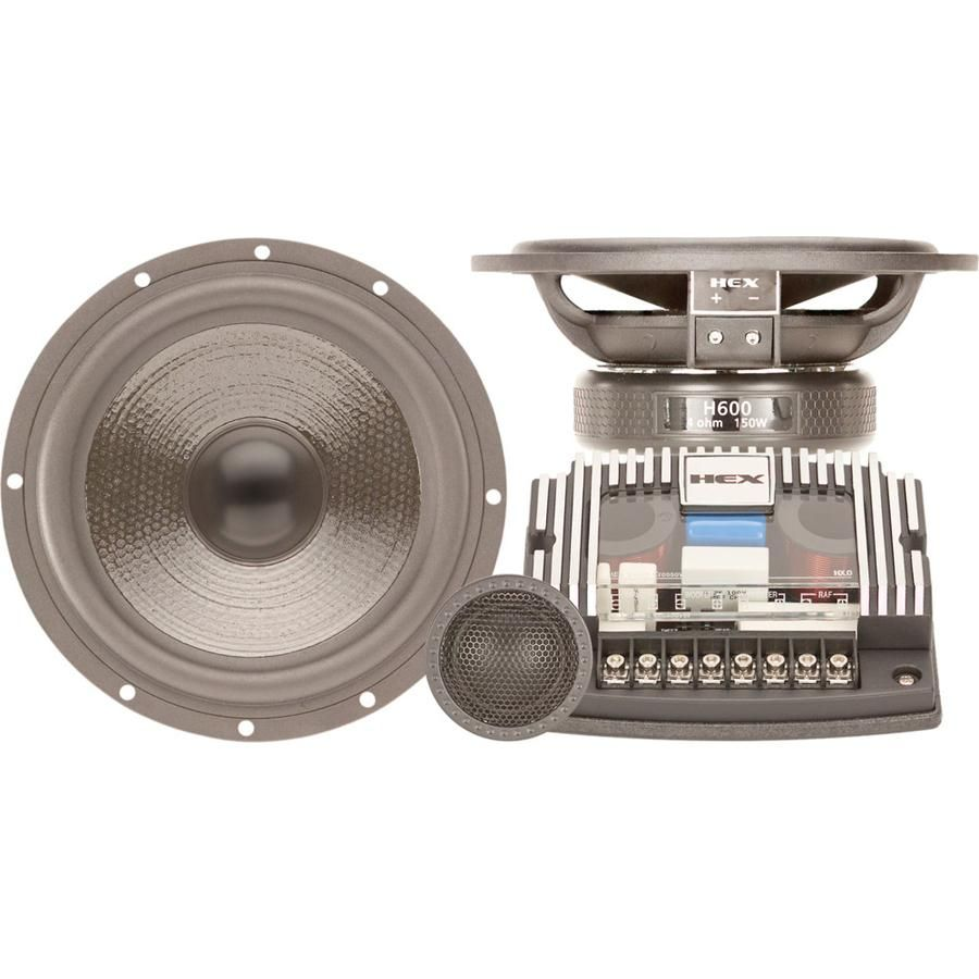 H600s Hex 6 Component Silk Tweeter Speaker Tweeter Speaker Speaker Diamond Music
