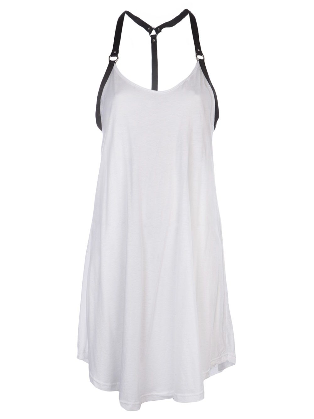 White tank dress cotton