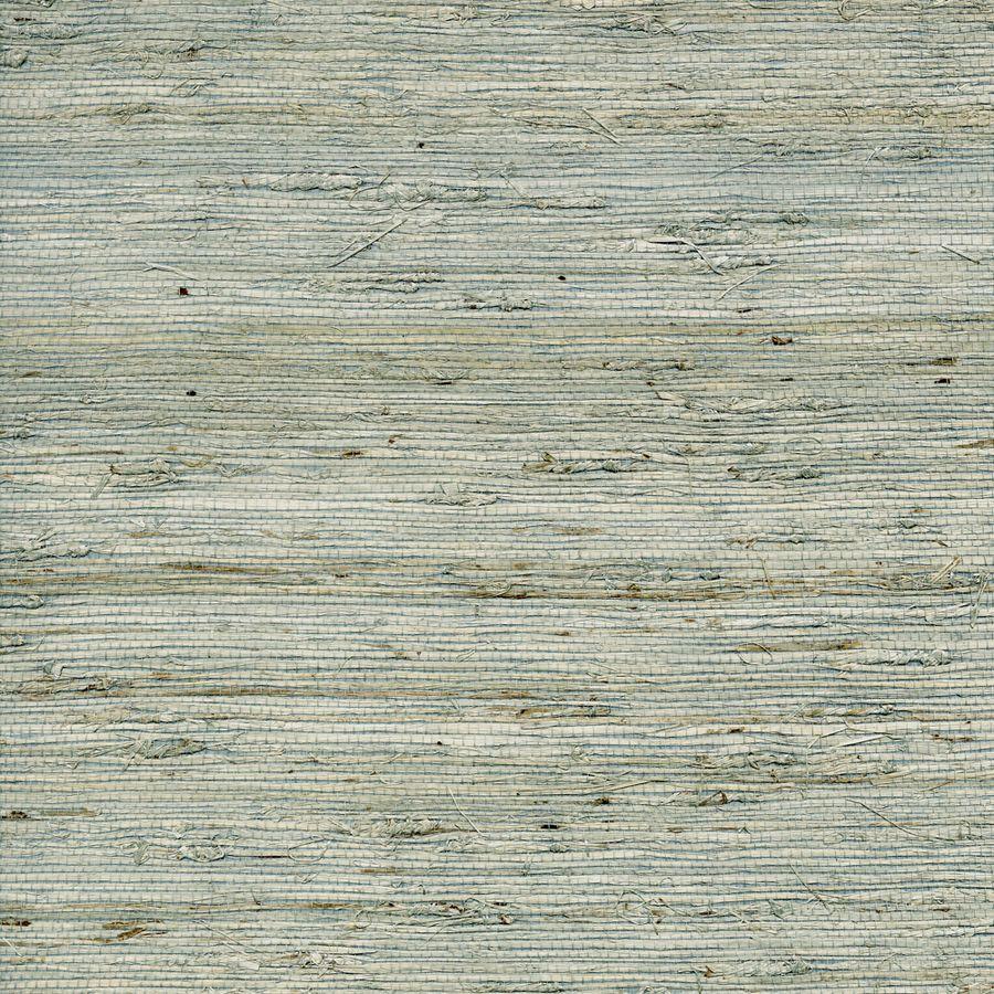 Shop allen + roth Nickel Grasscloth Unpasted Textured