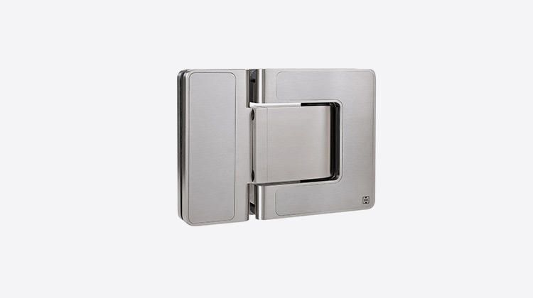 Mwe Agitus L Agg It Us Hinge Features A Dual Action Swing Direction The Engineering Permits Th Glass Door Hinges Modern Door Hardware Shower Door Designs