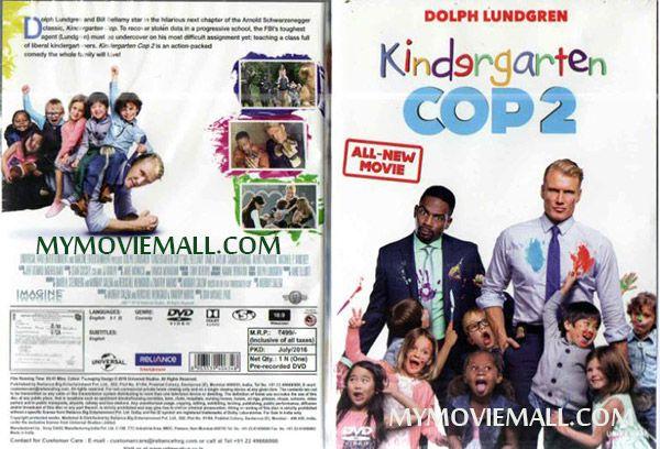 Kindergarten Cop 2 Dvd With Images Kindergarten English