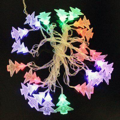 $6.50 (Buy here: http://appdeal.ru/b9n6 ) 5M 4.8W Flexible Christmas Trees RGB 20 LED String Light Lamp for Festival Wedding Party ( EU Plug 110 - 220V ) for just $6.50