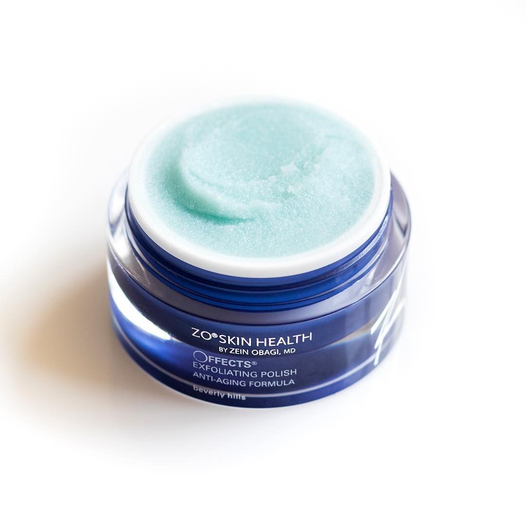 Exfoliating polish face scrub exfoliate dead skin cells