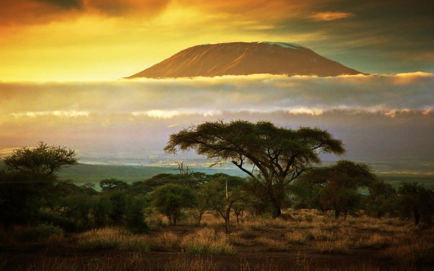 Mt. Kilimanjaro, Kenya. Picture: AP