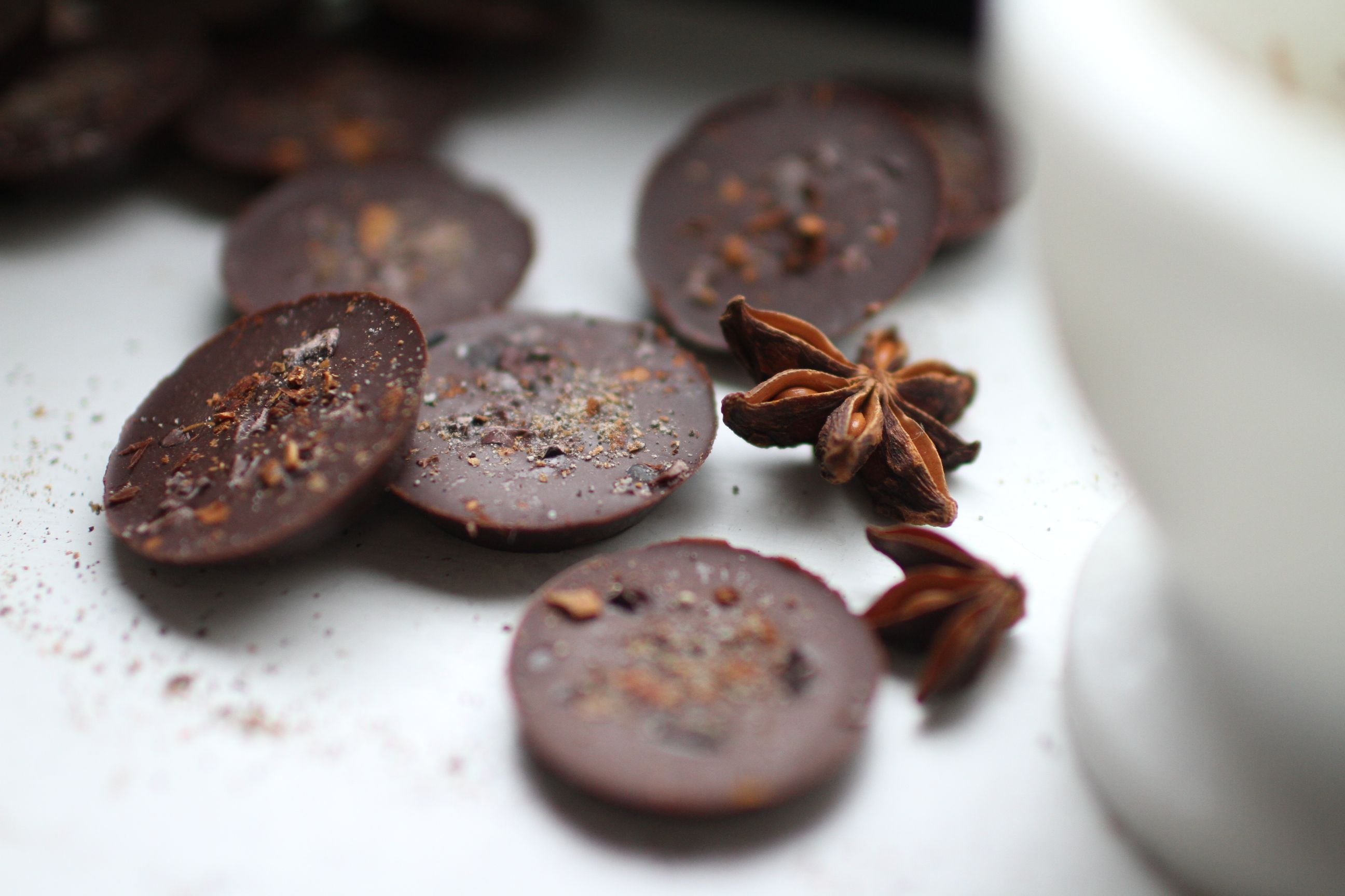 spicy raw chocolate