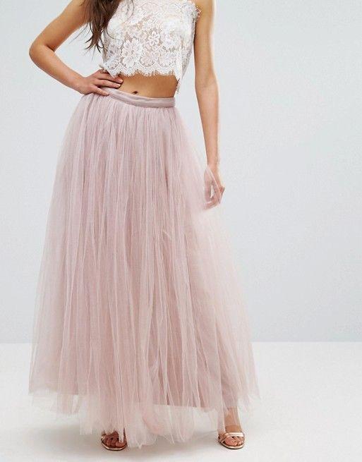 e1e0dbd8fc Little Mistress Maxi Tulle Prom Skirt | Clothes | Occasion wear ...