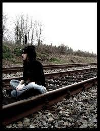 """""""Cosa fai lì?""""- """"Aspetto il treno""""- """"Per andare dove?""""- """"In paradiso""""- """"Allora alzati e corri tra le mie braccia,perchè solo tra le braccia di chi ti vuole bene potrai trovare il Paradiso.."""""""