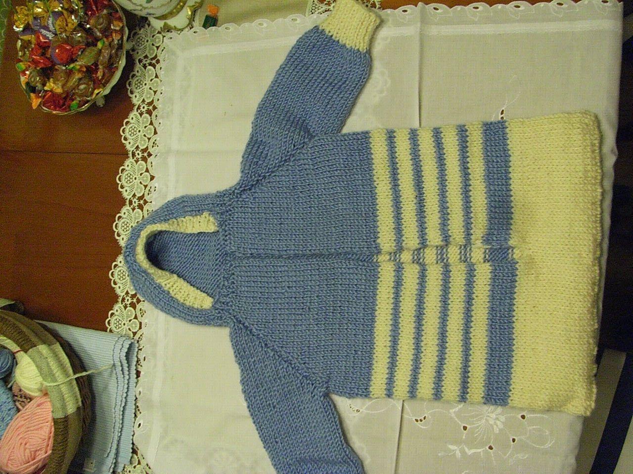 Diy Baby Schlafsack Strickenbaby Sleeping Bag Knitteil 1