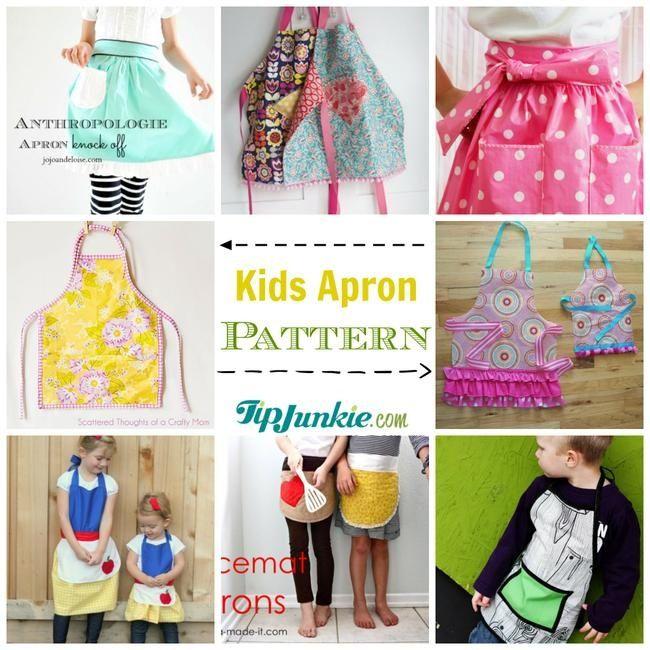 22 DIY Apron Patterns to Make | Nähen