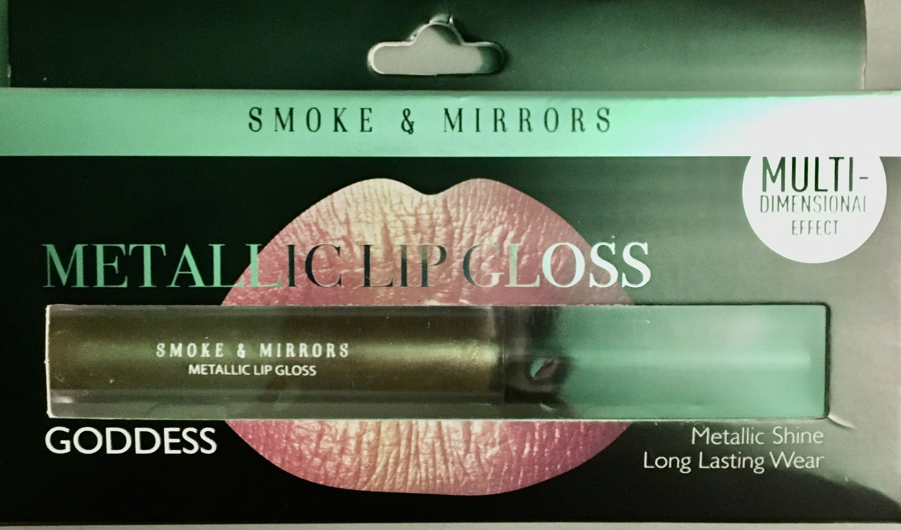 99 cent store Stockton March Lane Metallic lips, Mirror