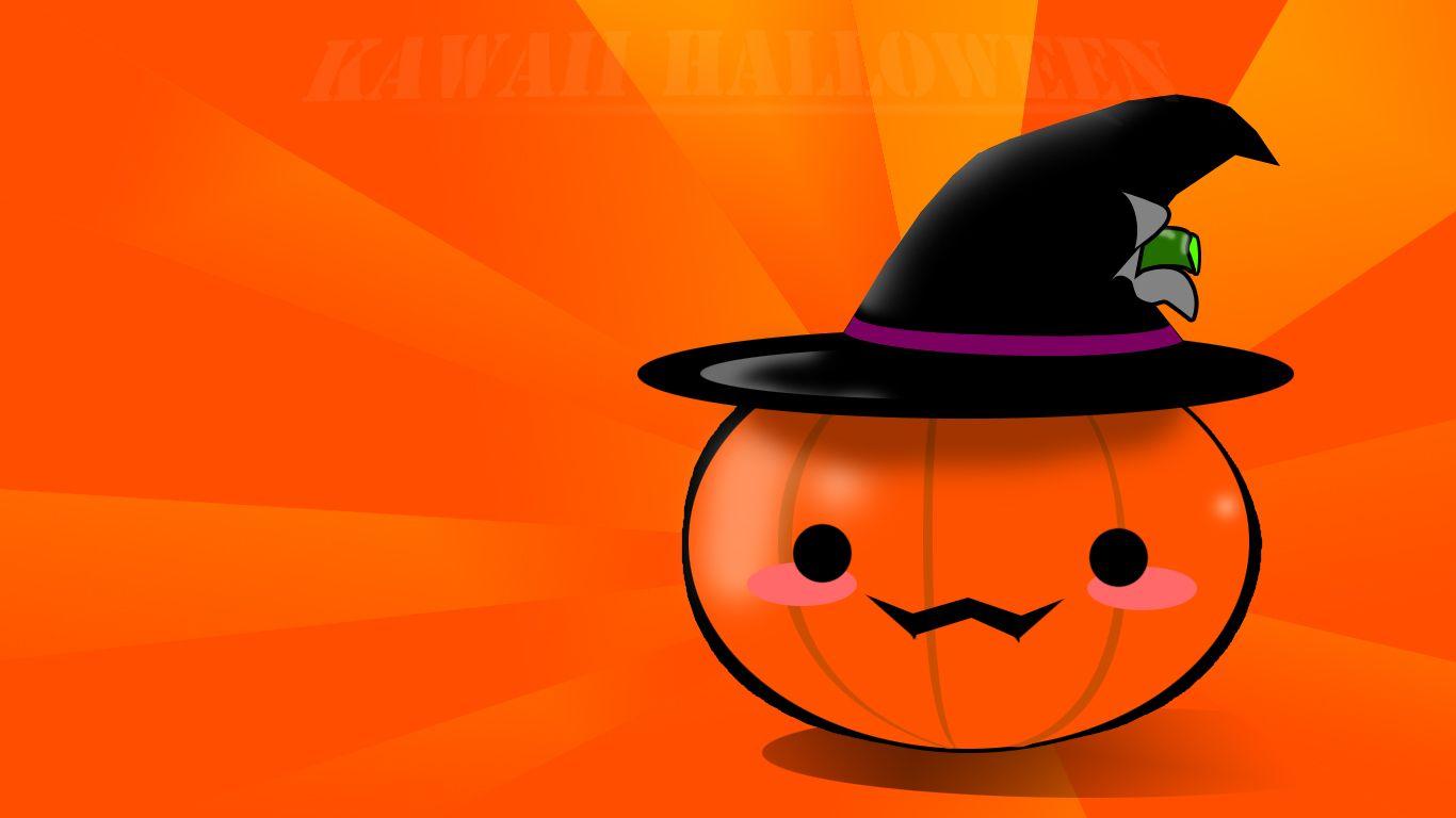 Kawaii Halloween Wallpaper By Arthurkremsier Deviantart Com With