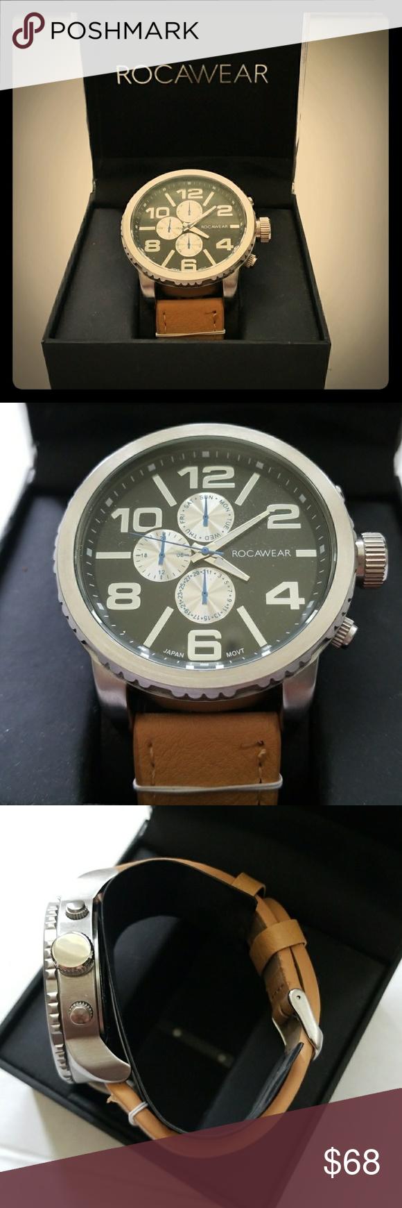 Nwt Mens Rocawear Watch Model Rm0209s1 050 Nwt Mens Xl Rocawear