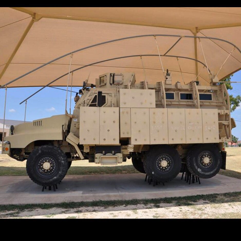 """M1230 Caiman MRAP. """"The last vehicle out of Iraq"""" on"""