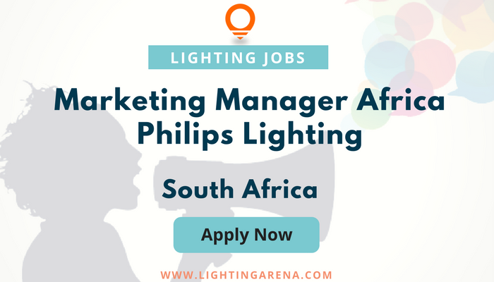 marketing manager africa philips lighting south africa jobs hiring jobsearch jobseekers philips lighting
