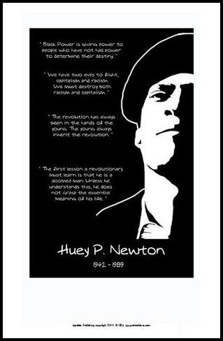 25db26a61 Huey P. Newton: Quotes by Julian Madyun | The Black Art Depot ...